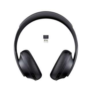 ブルートゥースヘッドホン Black NCHDPHS700UC_BLK [リモコン・マイク対応 /Bluetooth /ノイズキャンセリング対応]
