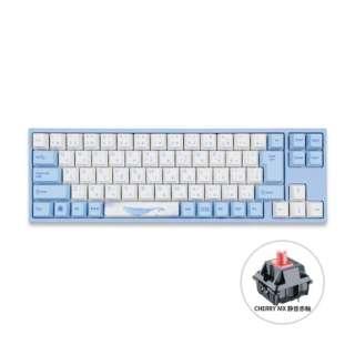 ゲーミングキーボード 73 Sea Melody 静音赤軸 vm-va73-wbpe7hj-silentred [USB /有線]