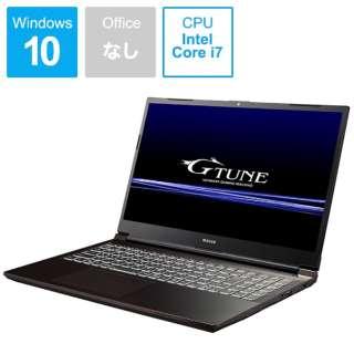 GTP5201101 ゲーミングノートパソコン G-Tune [15.6型 /intel Core i7 /SSD:512GB /メモリ:16GB]