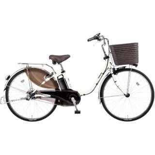 電動アシスト自転車 ビビ・DX フェザーホワイト BE-ELD636F2 [26インチ /3段変速] 【組立商品につき返品不可】