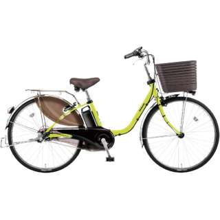 電動アシスト自転車 ビビ・DX ペアグリーン BE-ELD636G4 [26インチ /3段変速] 【組立商品につき返品不可】