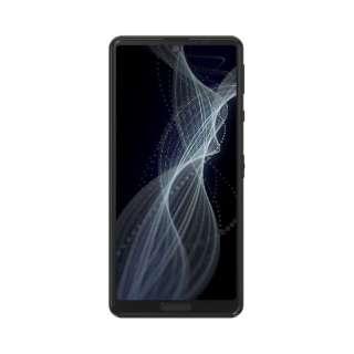 【防水・防塵・おサイフケータイ】AQUOS sense4 ブラック 「SHM15B」Snapdragon 720 5.8型 メモリ/ストレージ:4GB/64GB nanoSIM×2 DSDV対応 SIMフリースマートフォン