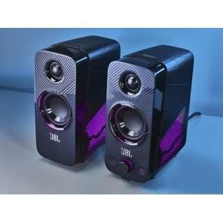 Bluetoothスピーカー ブラック JBLQUANTUMDUOBLKJN [Bluetooth対応]