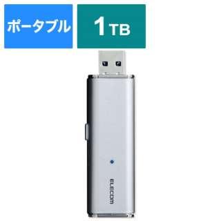 ESD-EMN1000GSV 外付けSSD USB-A接続 PS4対応 シルバー [1TB /ポータブル型]