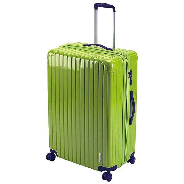 パルティール スーツケースTSAロック付きWFタイプL(エアーグリーン) UV-0079