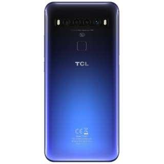 TCL-10 5G Chrome Blue 「T790H2ALCJP11」6.53型 Snapdragon 765 メモリ/ストレージ:6GB/128GB nanoSIMx1 ドコモ/au/ソフトバンク対応 SIMフリースマートフォン TCL