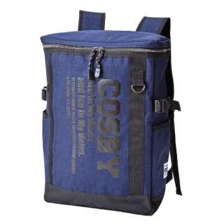 収納力で人気のCOSBYスクエアーリュック COSBY(コスビー) ネイビー 70005