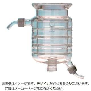 SIBATA セパラブルフラスコ 半円形 ジャケット式 DURAN 3L 005550-3001