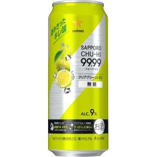 99.99(フォーナイン) グリーンレモン 500ml 24本【缶チューハイ】