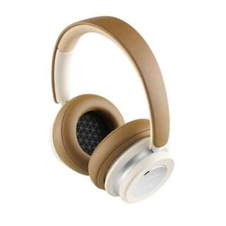 【アウトレット品】 ブルートゥースヘッドホン キャラメル ・ ホワイト IO6/CW [リモコン・マイク対応 /Bluetooth /ノイズキャンセリング対応] 【外装不良品】