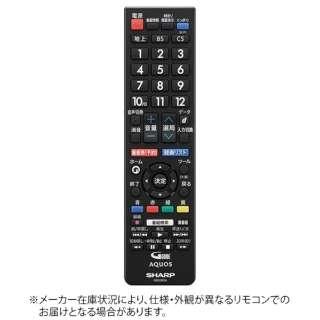 純正テレビ用リモコン【部品番号:0106380559】