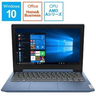 81VR001CBC ノートパソコン ideapad Slim 150 A6 アイスブルー [11.6型 /AMD Aシリーズ /SSD:128GB /メモリ:4GB /2020年12月モデル]