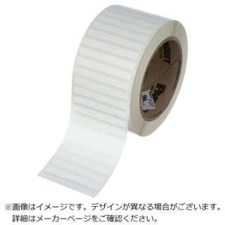 パンドウイット 熱転写プリンター用ラベル ポリエステル 白 サイズ19.1mmx6.4mm 10000枚入り C075X025YJT C075X025YJT