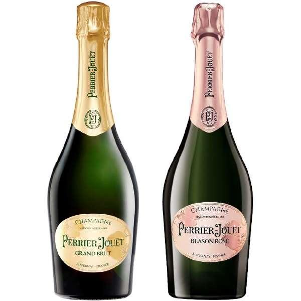 『ペリエ ジュエ』 白・ロゼ 飲み比べセット 750ml 2本【ワインセット】