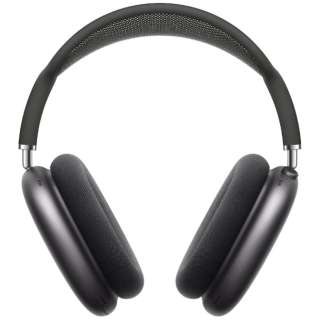 ブルートゥースヘッドホン AirPodsMax スペースグレイ MGYH3J/A [マイク対応 /Bluetooth /ノイズキャンセリング対応]