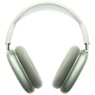 ブルートゥースヘッドホン AirPodsMax グリーン MGYN3J/A [マイク対応 /Bluetooth /ノイズキャンセリング対応]