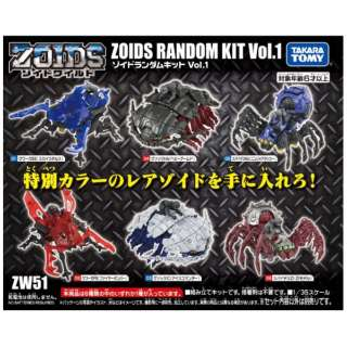 ゾイドワイルド ZW51 ゾイドランダムキットVol.1