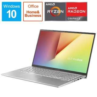 X512DA-BC884TS ノートパソコン VivoBook 15 X512DA トランスペアレントシルバー [15.6型 /AMD Ryzen 5 /SSD:512GB /メモリ:8GB /2020年12月モデル]