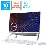 FI557-AWHBSC デスクトップパソコン Inspiron 24 5400 シルバー [23.8型 /intel Core i5 /メモリ:8GB /HDD:1TB /SSD:256GB /2020年秋冬モデル]