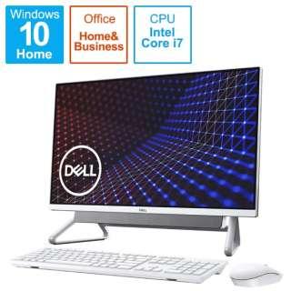 FI779-AWHBSC デスクトップパソコン Inspiron 27 7700 シルバー [27型 /HDD:1TB /SSD:512GB /メモリ:8GB /2020年秋冬モデル]