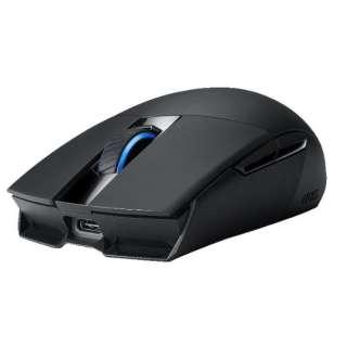P510 ROG STRIX IMPACT II WL ゲーミングマウス ブラック [光学式 /5ボタン /USB /有線/無線(ワイヤレス)]