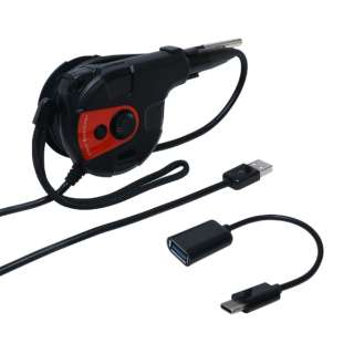 USB-A / USB-C接続 隙間に入るスリムなUSBカメラ グースネックタイプ UC-03