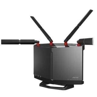 WXR-6000AX12S 無線LAN親機 wifi6ルーター 4803+1147Mbps IPv6対応 4803+1147Mbps チタニウムグレー [ac/n/a/g/b]