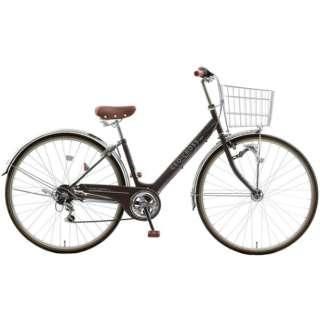 27型 自転車 ジオクロスプラス276(ツヤケシブラック/外装6段変速) FV76BK【2021年モデル】 【組立商品につき返品不可】
