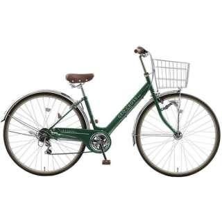 27型 自転車 ジオクロスプラス276(ディープグリーン/外装6段変速) FV76BK【2021年モデル】 【組立商品につき返品不可】