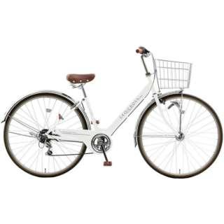 27型 自転車 ジオクロスプラス276(ホワイト/外装6段変速) FV76BK【2021年モデル】 【組立商品につき返品不可】