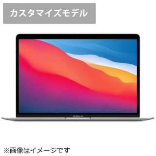 MGN93JA/CTO【日本語(JIS)キーボード カスタマイズモデル】13インチMacBook Air: 8コアCPUと7コアGPUを搭載したApple M1チップ 256GB SSD - シルバー [13.3型 /SSD:256GB /メモリ:16GB /2020年モデル]