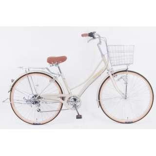 26型 自転車 レベッツァコリーヌ(エルクベージュ/外装6段変速) FX_W266BK_HD_BAA_C【2021年モデル】 【組立商品につき返品不可】