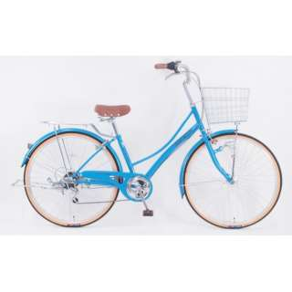 26型 自転車 レベッツァコリーヌ(ジェイブルー/外装6段変速) FX_W266BK_HD_BAA_C【2021年モデル】 【組立商品につき返品不可】
