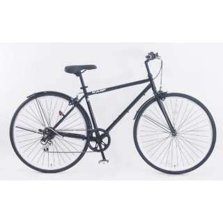 700x32C型 クロスバイク ワンプタイプワン(ブラック/470サイズ/外装6段変速≪適応身長:166cm以上≫) CRB_B7006WPB_C_1【2021年モデル】 【組立商品につき返品不可】