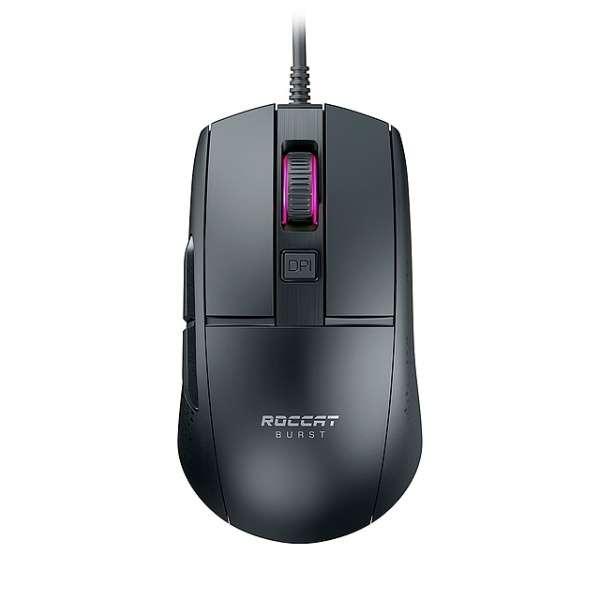 ゲーミングマウス BURST CORE ブラック ROC-11-750 [光学式 /有線 /8ボタン /USB]