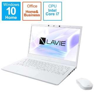 PC-N1475BAW ノートパソコン LAVIE N14シリーズ パールホワイト [14.0型 /intel Core i7 /メモリ:8GB /SSD:512GB /2021年春モデル]
