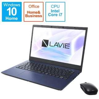 PC-N1475BAL ノートパソコン LAVIE N14シリーズ ネイビーブルー [14.0型 /intel Core i7 /メモリ:8GB /SSD:512GB /2021年春モデル]