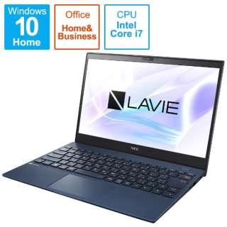 PC-PM750BAL ノートパソコン LAVIE ProMobile ネイビーブルー [13.3型 /intel Core i7 /SSD:512GB /メモリ:8GB /2021年1月モデル]
