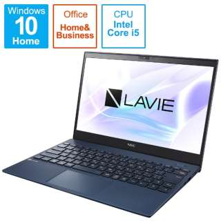 PC-PM550BZL-2 ノートパソコン LAVIE ProMobile ネイビーブルー [13.3型 /intel Core i5 /SSD:512GB /メモリ:8GB /2021年1月モデル]