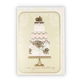 結婚お祝いカードGWEウェディングケーキ 778453