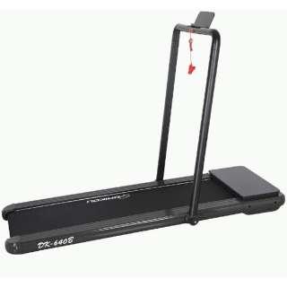 家庭用小型ルームランナー リモコン付き(W74×L154×H114/ブラック) DK-640B 【キャンセル・返品不可】
