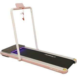 家庭用小型ルームランナー リモコン付き(W74×L154×H114/ピンク) DK-640P 【キャンセル・返品不可】