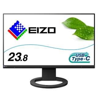 EV2480-BK USB-C接続 PCモニター FlexScan ブラック [23.8型 /ワイド /フルHD(1920×1080)]