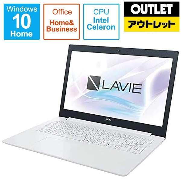 【アウトレット品】 PC-GN18CR ノートPC [15.6型 /Celeron /SSD:256GB /メモリ:4GB/Office2019付属] 【数量限定品】