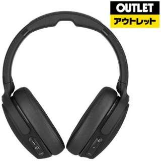 【アウトレット品】 ブルートゥースヘッドホン BLACK S6HCW-L003 [リモコン・マイク対応 /Bluetooth /ノイズキャンセリング対応] 【外装不良品】
