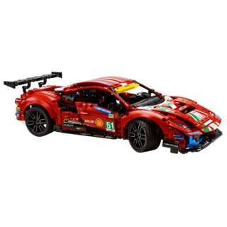 LEGO(レゴ) 42125 テクニック フェラーリ 488 GTE AF コルセ #51