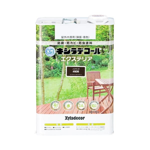 水性キシラデコール エクスS パリサンダ 3.4L