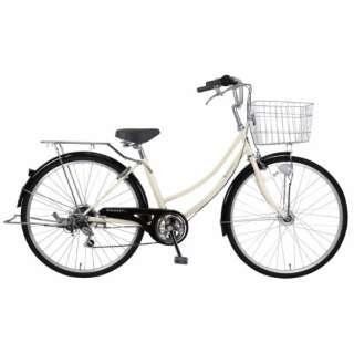 26型 自転車 リブレットホーム266-C(ベージュ/外装6段変速《適応身長:141cm~》) MC-21-011【2021年モデル】 【組立商品につき返品不可】