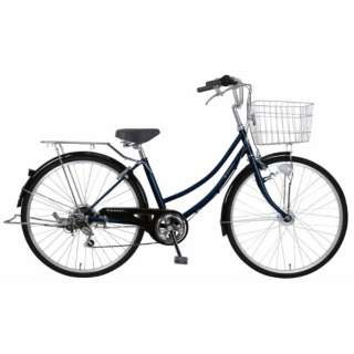 26型 自転車 リブレットホーム266-C(ダークブルー/外装6段変速《適応身長:141cm~》) MC-21-011【2021年モデル】 【組立商品につき返品不可】