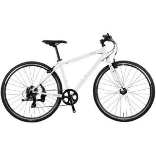700×32C クロスバイク バカンゼ 2フラッシュ VACANZE 2 FLASH 500mm(ホワイト/7段変速《適応身長:173cm~》)NE-21-014 【2021年モデル】 【組立商品につき返品不可】